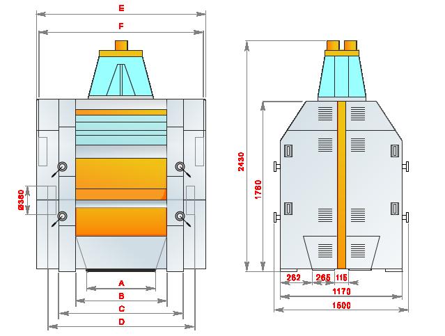 вальцевые станки схемы двойной пневматический вальцевый станок