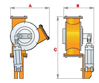 перекидной клапан