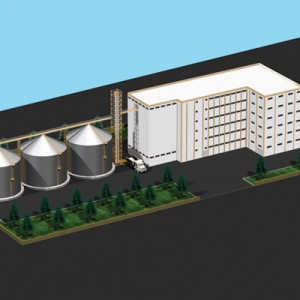 Мельничные Системы в Многоэтажном Здании -1