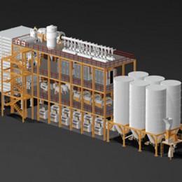 Мельничные Системы на Стальной Конструкции 2