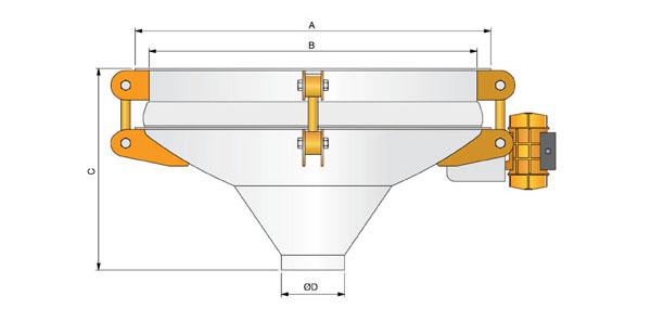 Виброднище (вибрационный разгрузитель)