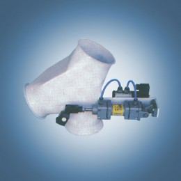 Клапан двухпоточный 60° электропневматический (тип АР2)