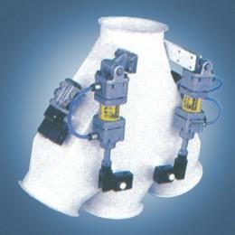 Клапан трёхпоточный электропневматический 60° (тип АР3)