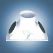 Клапан двухпоточный 90° (тип А10)
