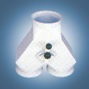 Переключатель двухпоточный 60° (тип B1)
