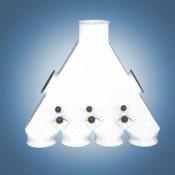 Переключатели четрёхпоточные 90° (тип В5)