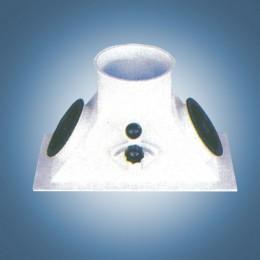 Переключатель двухпоточный 90°  (тип В6)