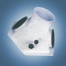 Переключатель двухпоточный 30° (тип В8)