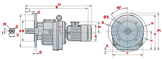 Моторедуктор_MRF