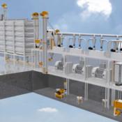 Мукомольная система 1750 (производительностью 40-45 тонн/сут)