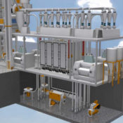 Мукомольная система 2250 ( производительностью 55-60 тонн/сут)