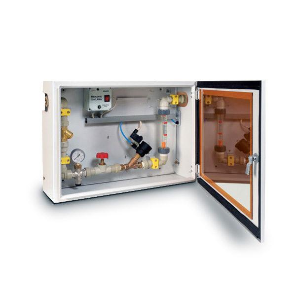 Механический Расходомер с Воздушным Клапаном