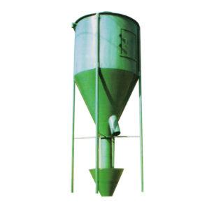 Вертикальная мешалка (миксер) для комбикормового завода. Комбикормовое оборудование.