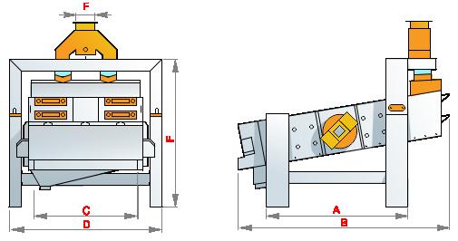 Вибрационный сепаратор. Зерноочистка. Мукомольное оборудование.