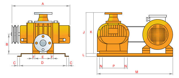 Воздуходувка буловер