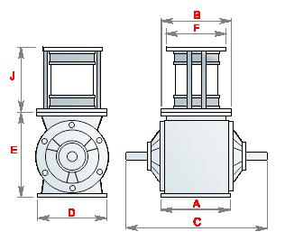 шлюзовой затвор мельничное оборудование