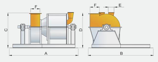 Молотковая дробилка для измельчения минеральных добавок в комбикорм
