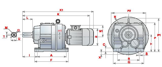 Моторедуктор_MRA