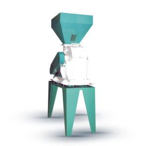 Молотковая Дробилка (производительность 5 тонн/час) для комбикормового завода. Оборудование для производства комбикормов.