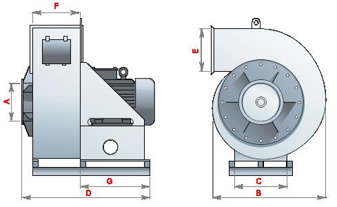 Аспиратор вентилятор пневматики