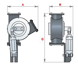 Клапан перекидной