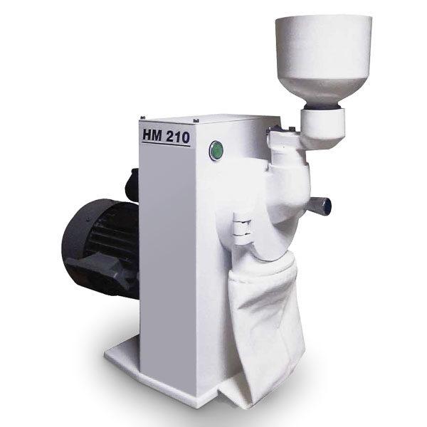 Молотковая лабораторная мельница НМ 210
