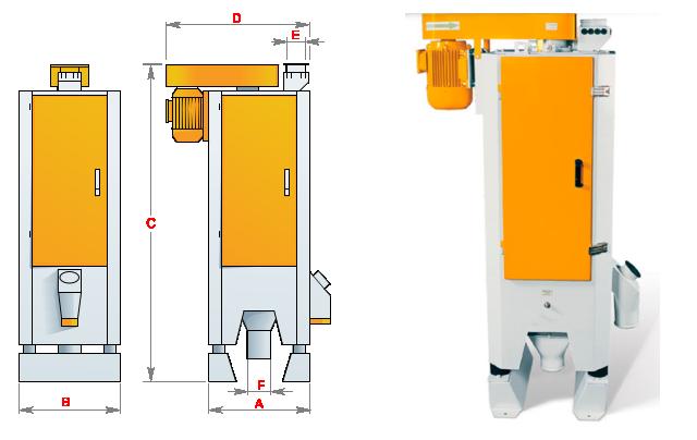 Вибрационная вымольная машина